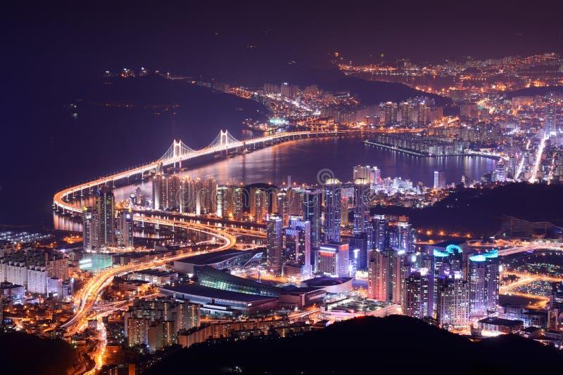 Download Busan, South Korea stock photo. Image of night, nightscape - 29371882