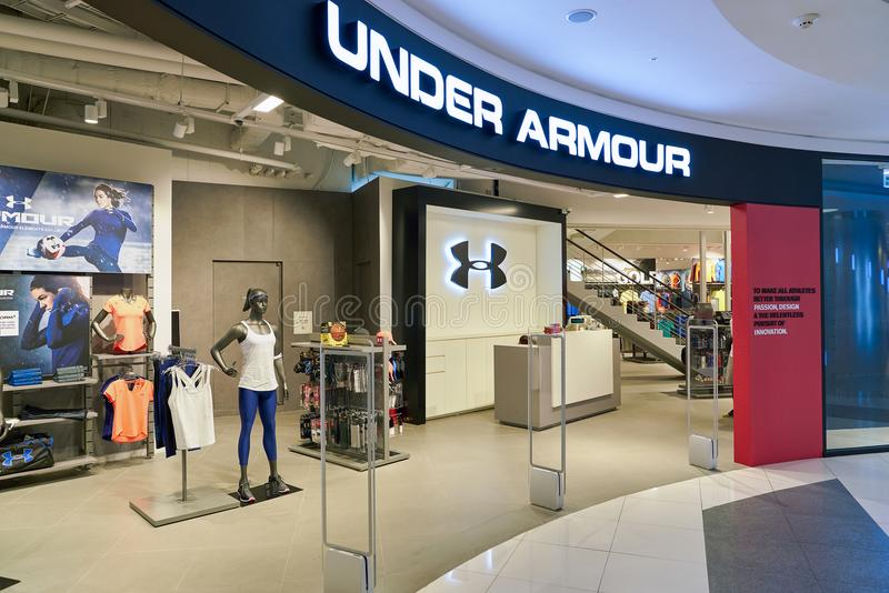 under armour clothing store