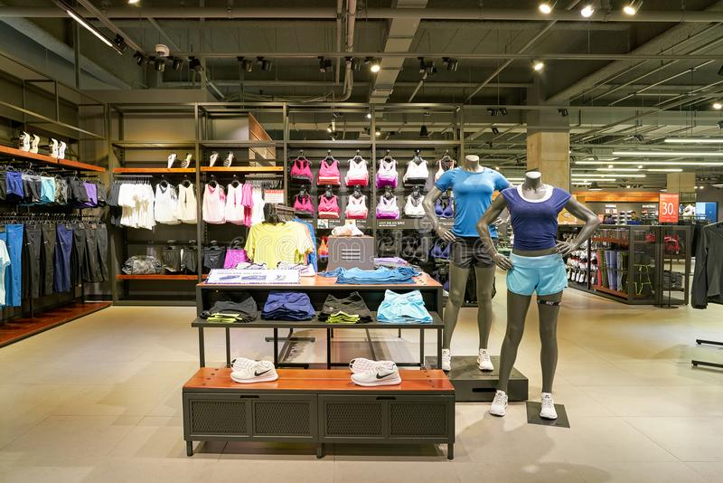 Download Nike Store Editorial Stock Image Of Retail