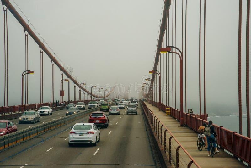 BUSAN, SOUTH KOREA - Oct, 2019 Spiral road ramp of Busan North Port Bridge royalty free stock image