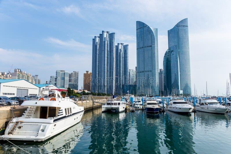 Busan stad royaltyfri bild