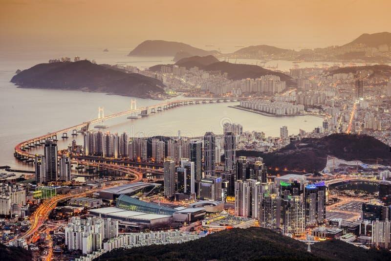 Busan Sydkorea arkivfoton