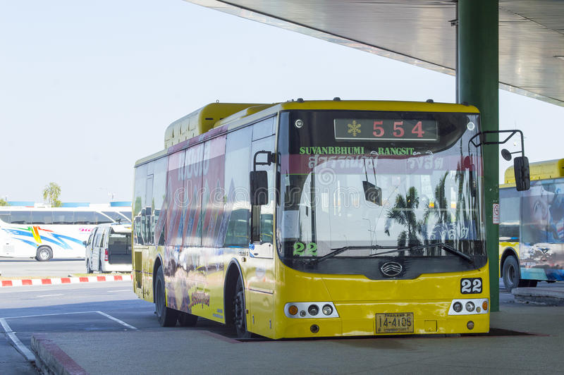 Busauto stock foto's