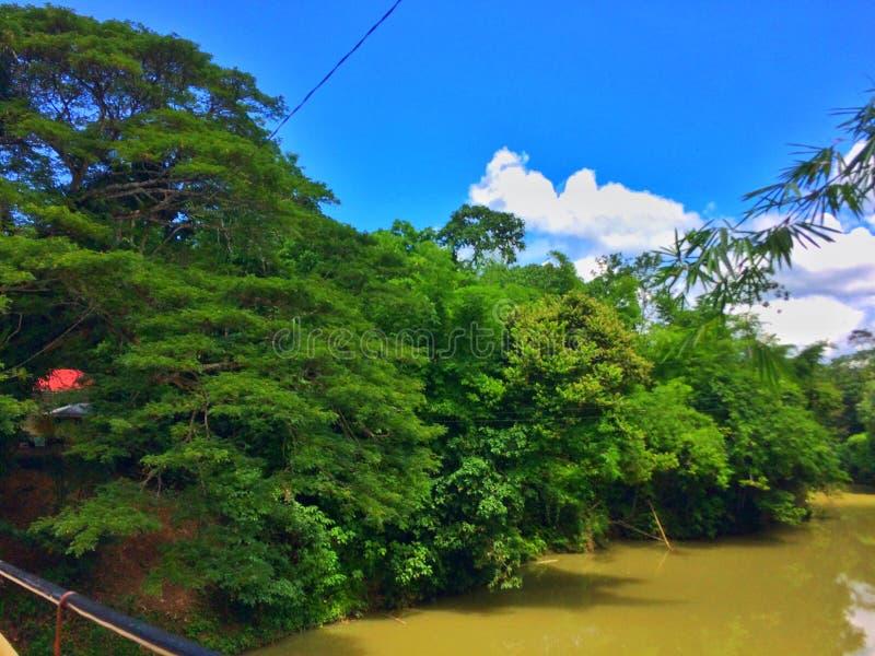 Busay河 免版税库存照片