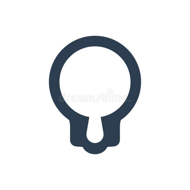 Busca Seo Solution Icon ilustração stock