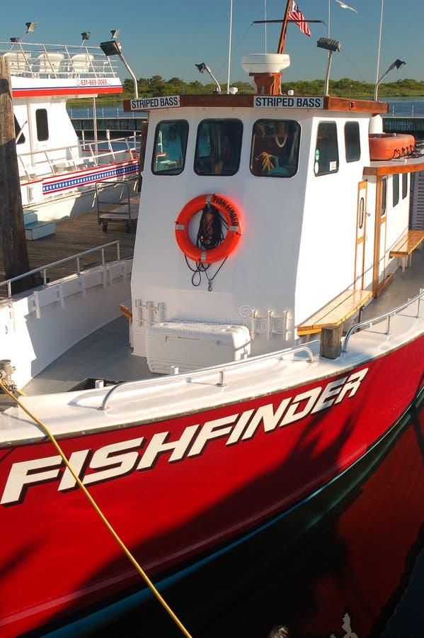 Buscador de los pescados foto de archivo