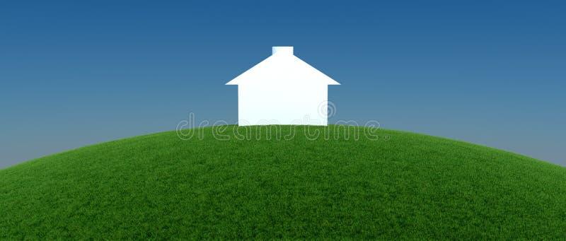 Buscando para la propiedad de las propiedades inmobiliarias, la casa o el nuevo hogar libre illustration