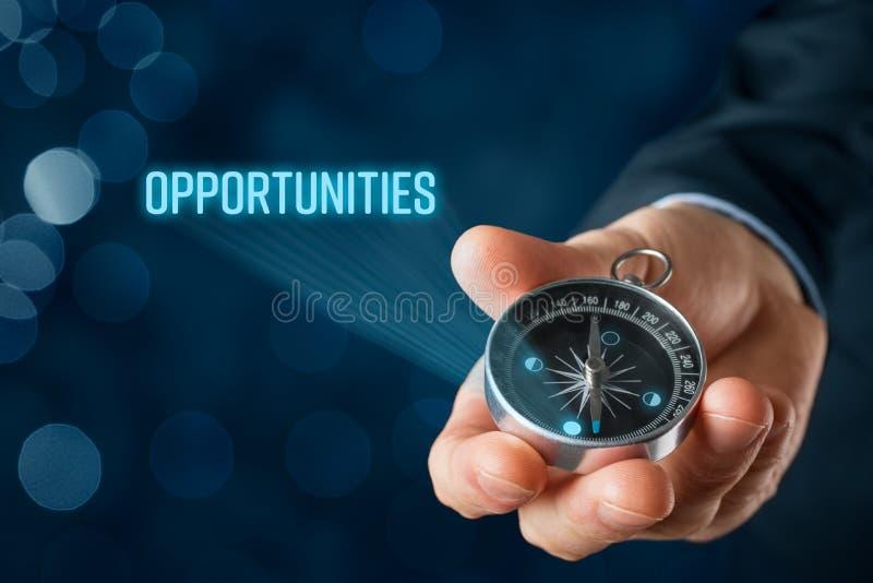 Buscar concepto de las oportunidades fotografía de archivo