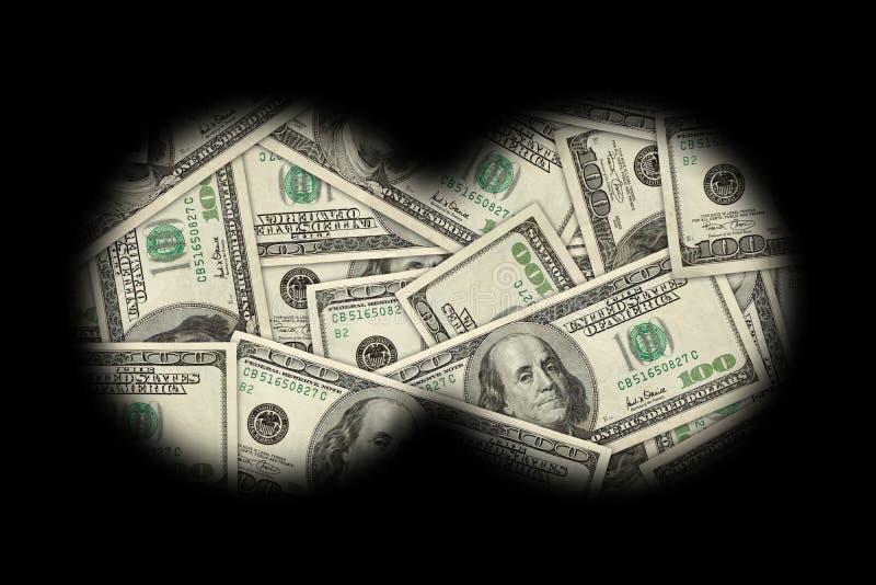 Buscar el dinero ilustración del vector