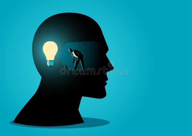 Buscar ideas ilustración del vector