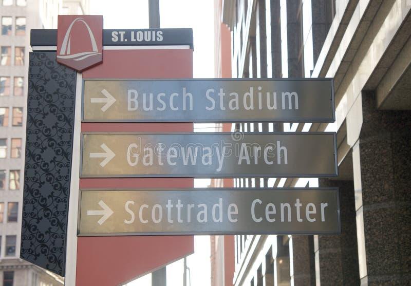 Busch体育场,街市圣路易斯,密苏里 库存图片