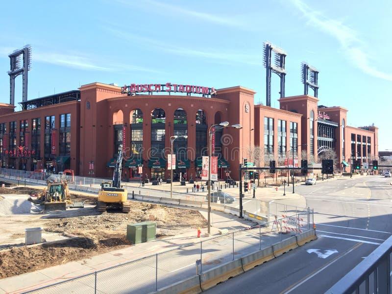Busch Stadium zdjęcie royalty free