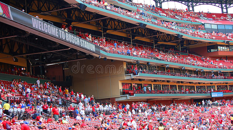 busch stadium stock photos