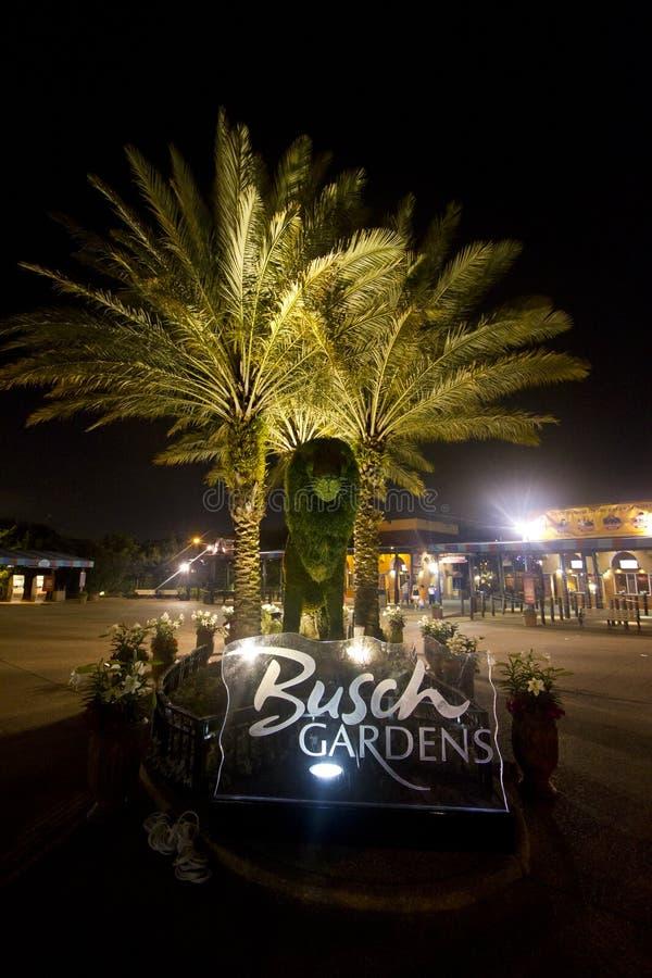 busch uprawia ogródek Tampa obraz stock