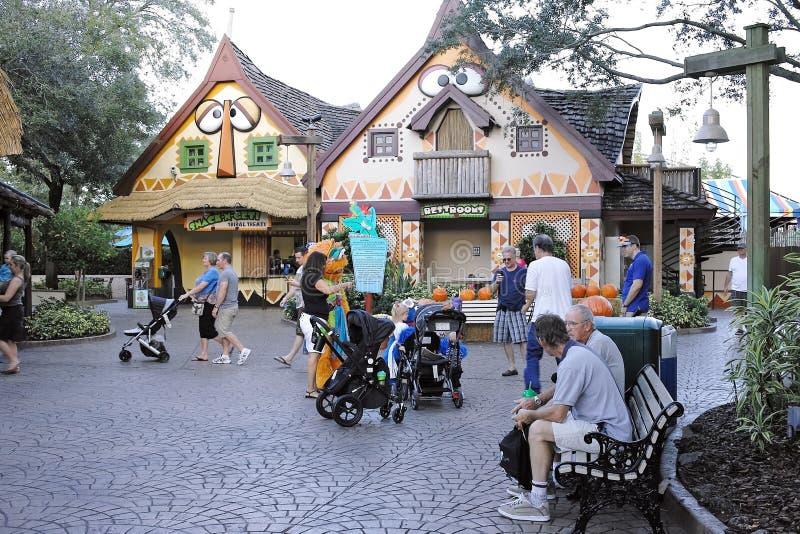 Busch uprawia ogródek w Tampa obraz royalty free