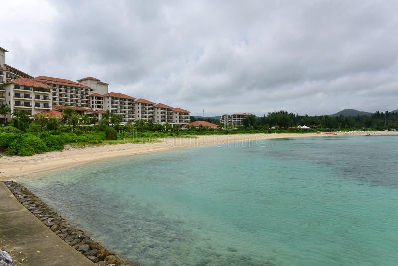Busena Marine Park in Okinawa stock fotografie