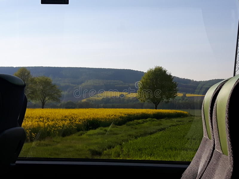 Busfahrt lizenzfreies stockfoto