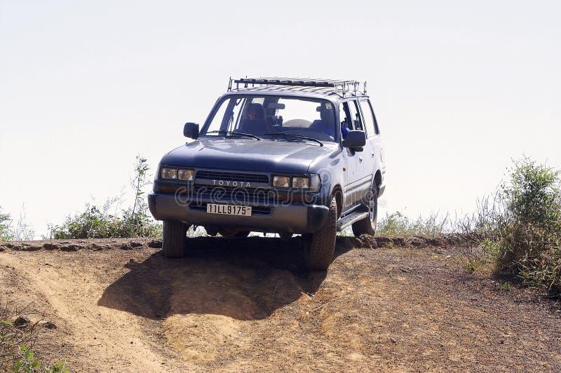 Bush in Burkina Faso stockfotos