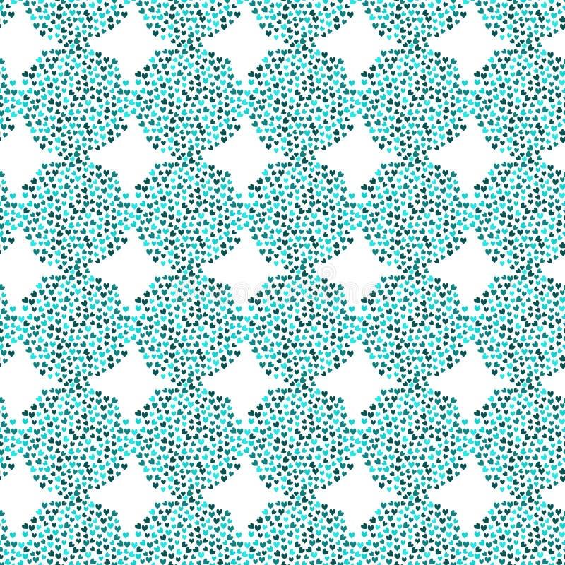 Download Water Heart Balls Seamless Background Stock Illustration - Illustration of decoration, blue: 90688737