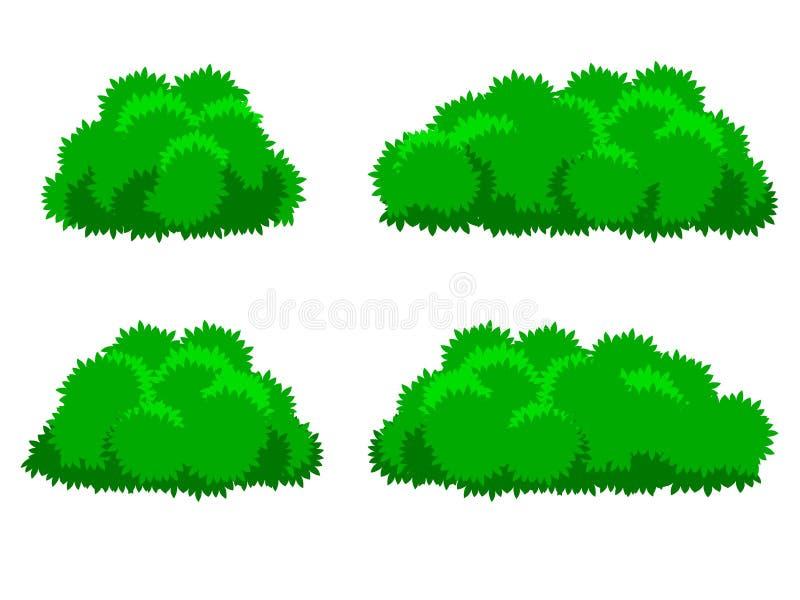 Bush Plants Cartoon Stock Vector Image 58365599