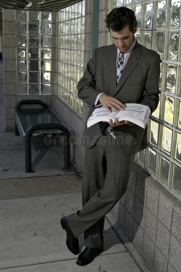 Bushaltestelle-Studie lizenzfreie stockfotografie