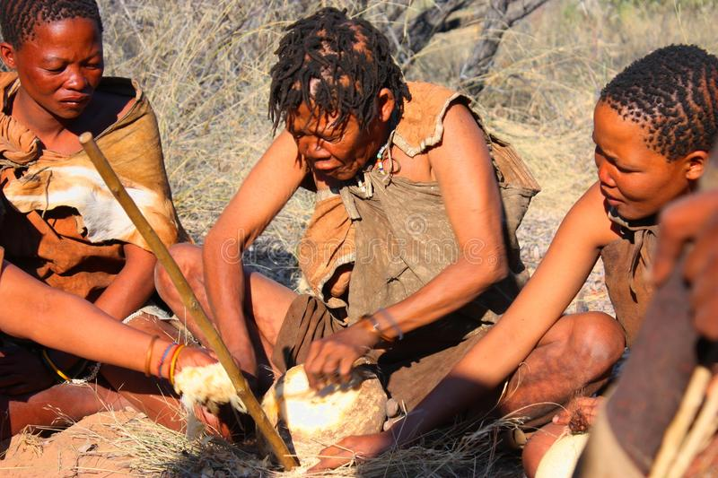 Download Bushman editorial stock photo. Image of authentic, indigenous - 26445033