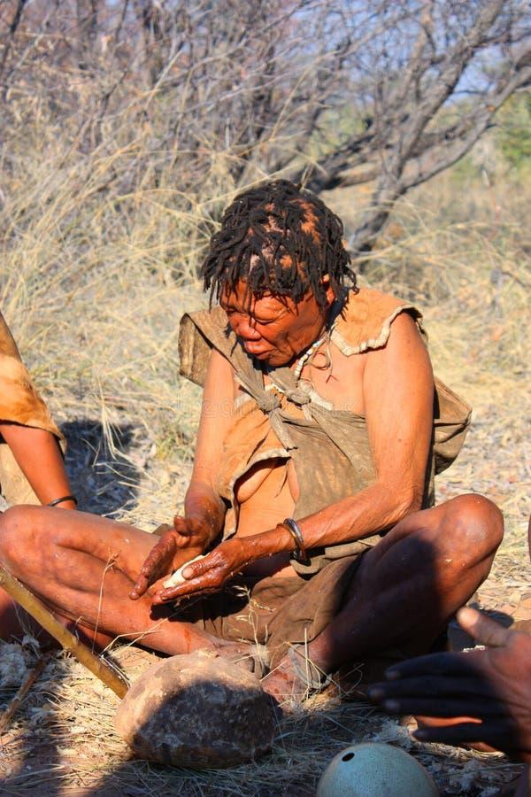Download Bushman editorial image. Image of nature, person, elderly - 26445280