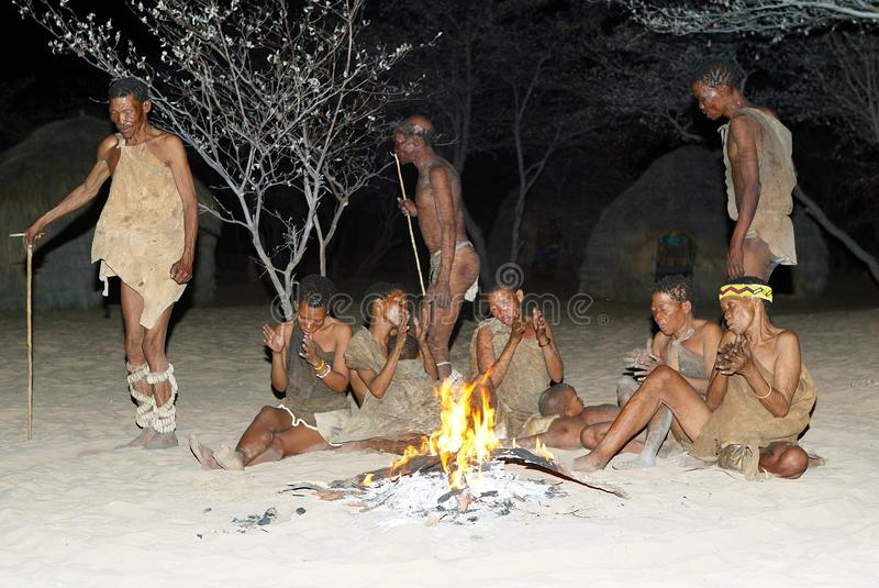 Bushmen Dancer Editorial Photography