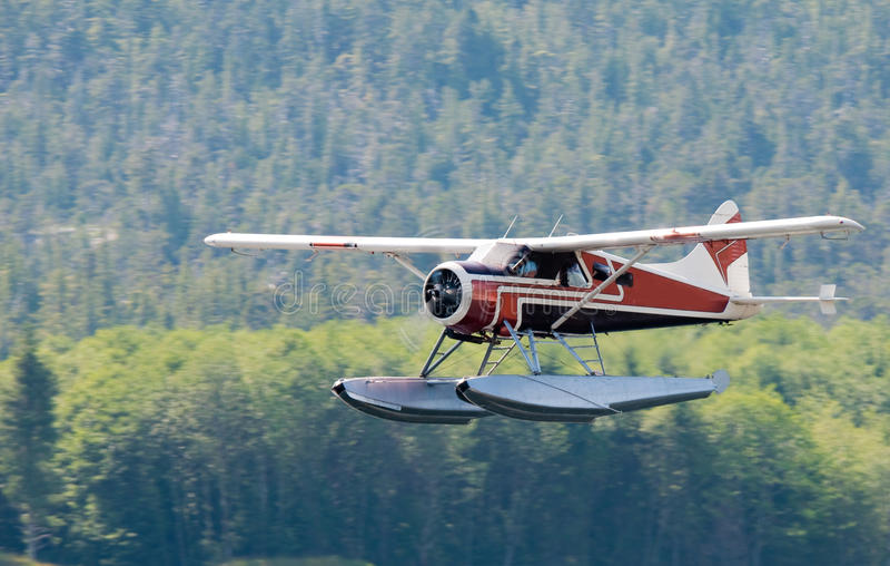 bushplane Аляски стоковое фото