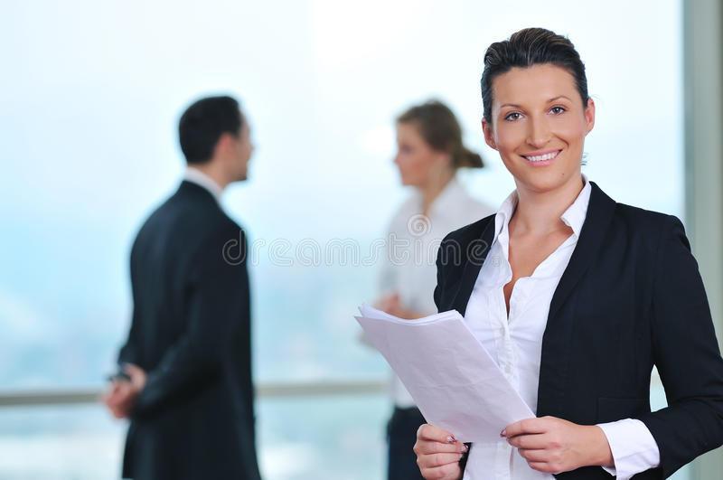Busieness people royalty free stock photography