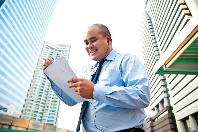 Busineass man stock image