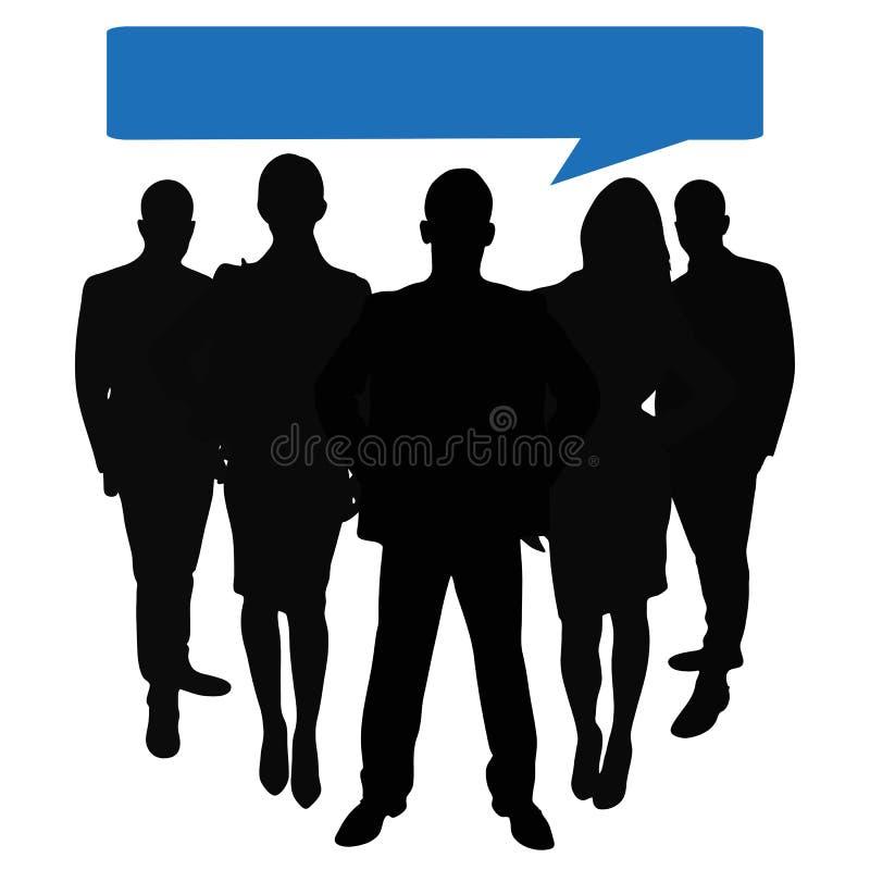 Download Busines与讲话泡影的团队负责人 库存例证. 插画 包括有 行业, 咨询, 工作, 概念, 公司, 贸易商 - 62536227