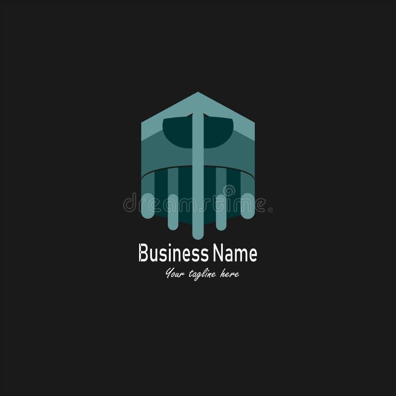 Business和Company商标或标志 向量例证