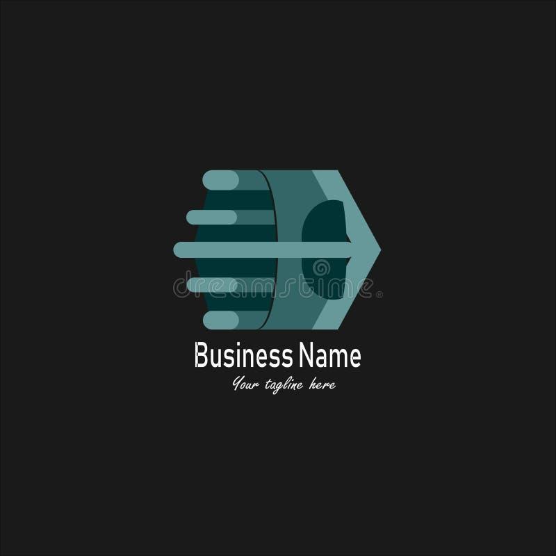 Business和Company商标或标志 皇族释放例证