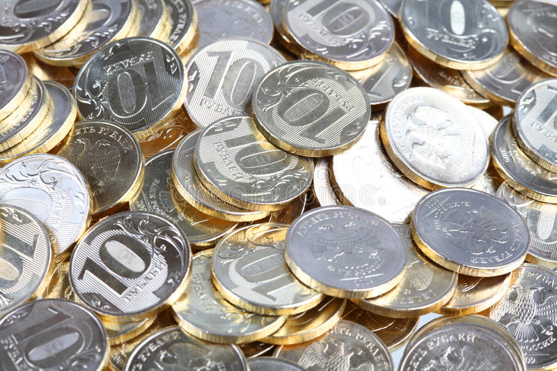 Business. A background from coins stock photos