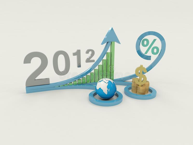 Download Business In 2012 Royalty Free Stock Photography - Image: 23644417
