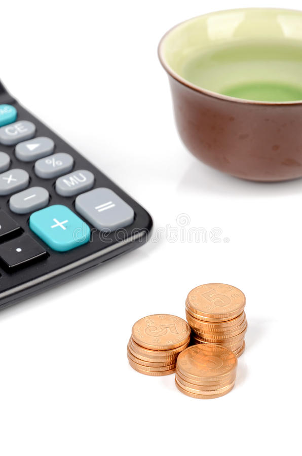 Download Business stock image. Image of brown, calculator, math - 26600133