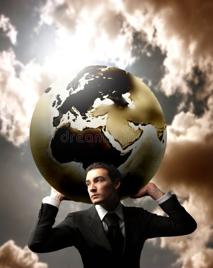 Download Business stock photo. Image of business, globe, world - 5543750