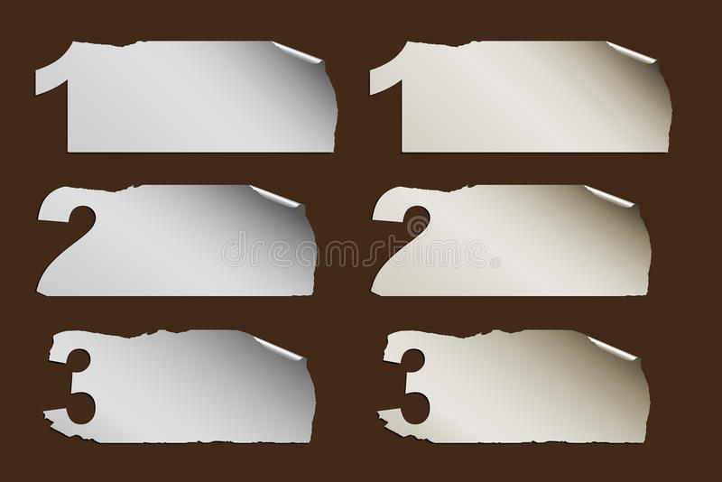 Download Business Abstract Paper Progress Stock Vector - Image: 24682349