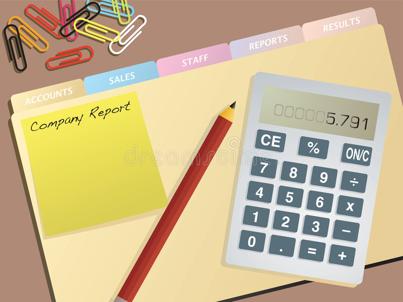 Business Accounts Royalty Free Stock Images
