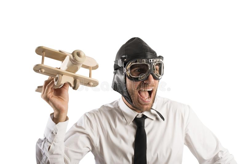 Business in action stock image