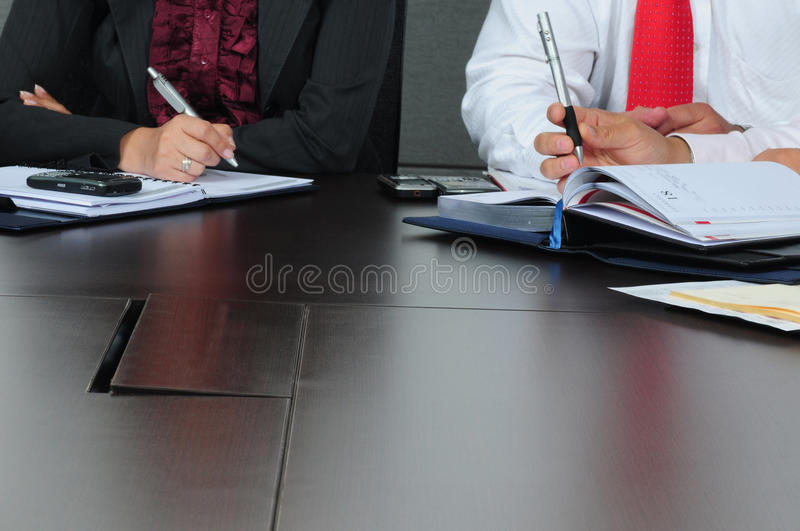 Business activity. stock images