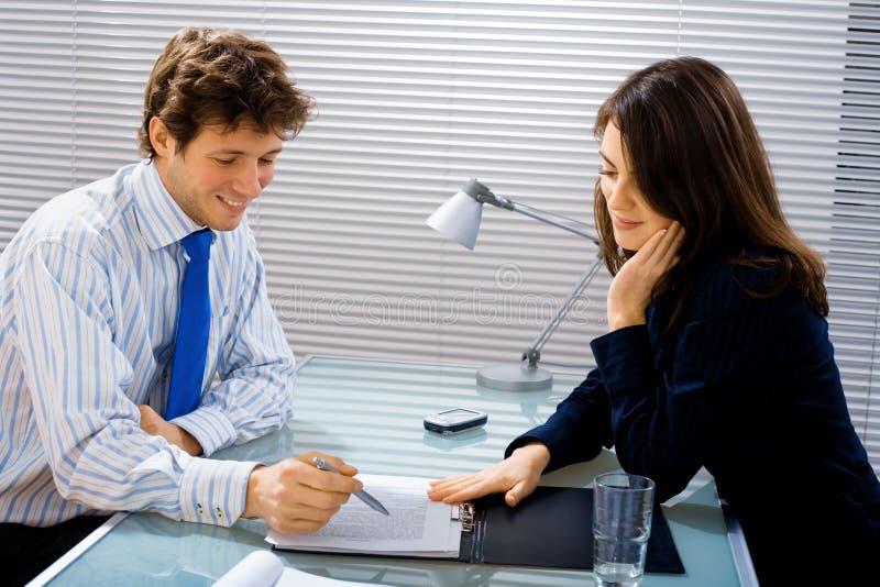 Business advisor works stock photos