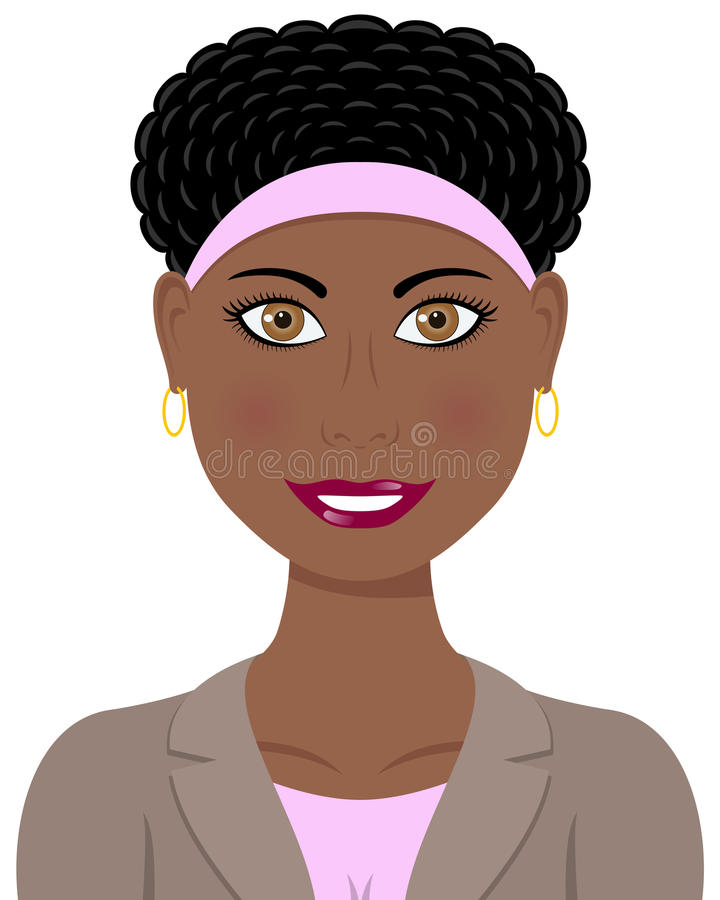 Free Business Afro American Woman Royalty Free Stock Image - 27451306