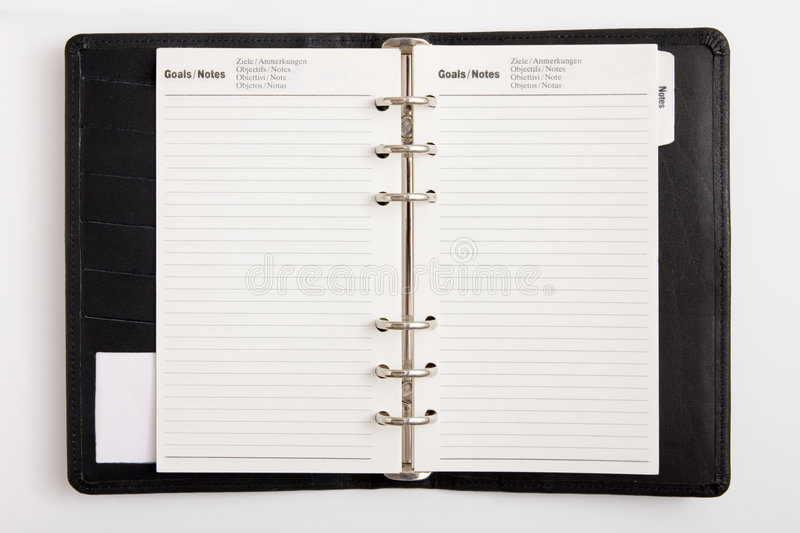 Download Business agenda goals stock photo. Image of learning, memo - 810048