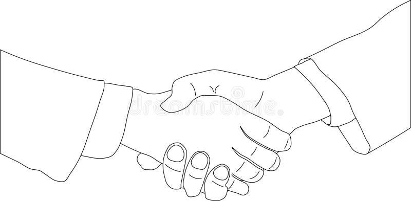 Download Business agreement stock vector. Image of integrity, handshake - 4915934
