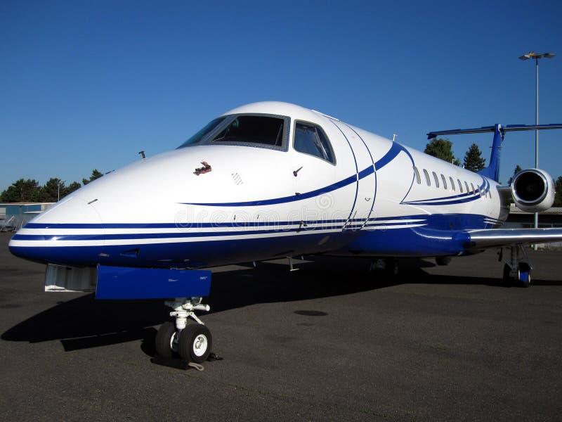 Business aircraft stock image