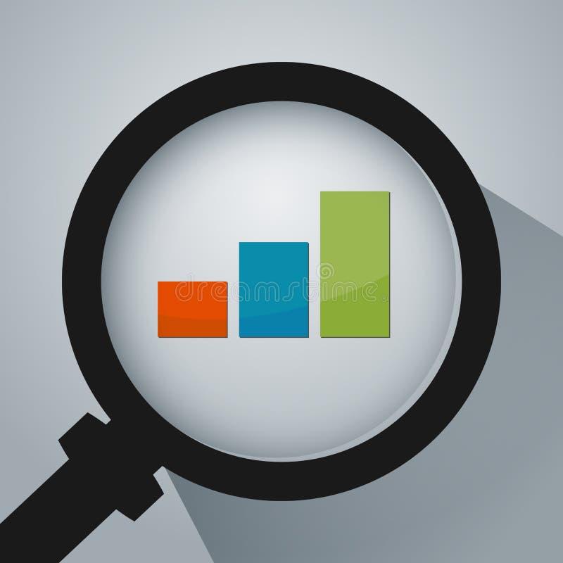 Business Analysis Icon royalty free illustration