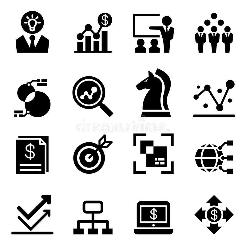 Business analysis icon stock illustration. Illustration of ...