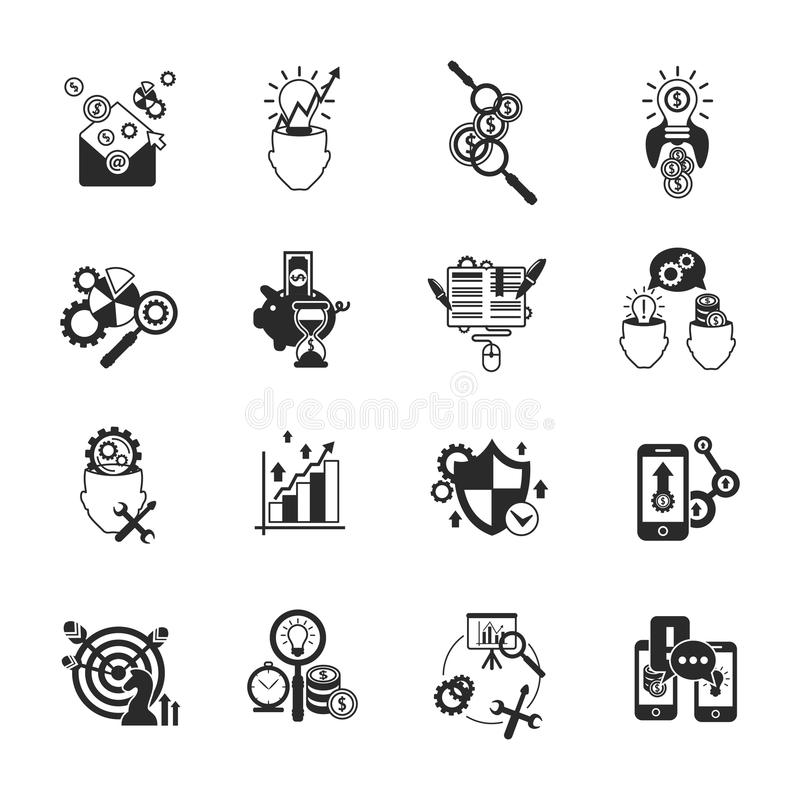 Business Market Symbols Clipart Library